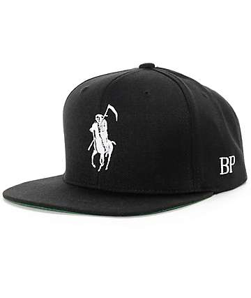 Brooklyn Projects Reaper Black Snapback Hat