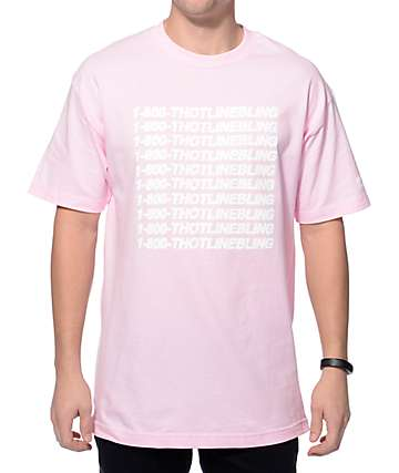 Brooklyn Projects Thotline Bling Pink T-Shirt