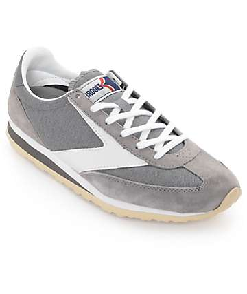Brooks Vangaurd Dark Grey Womens Shoes