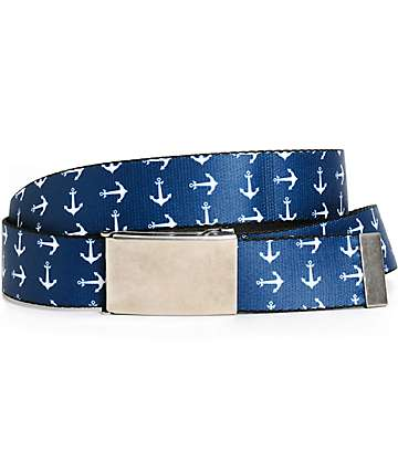 Buckle Down Anchors Web Belt