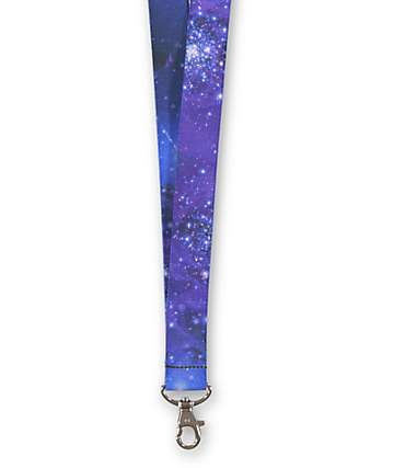 Buckle Down Galaxy Lanyard