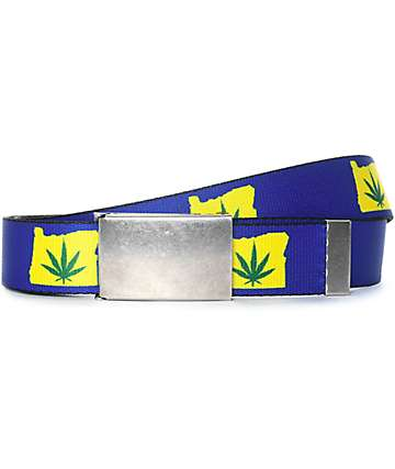 Buckle Down OR Weed Web Belt
