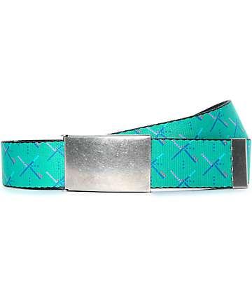 Buckle Down PDX Carpet cinturón tejido