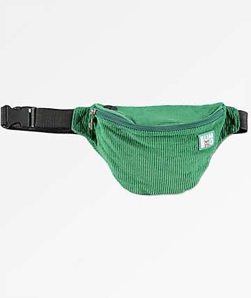 Bumbag Time Warp Green Corduroy Fanny Pack