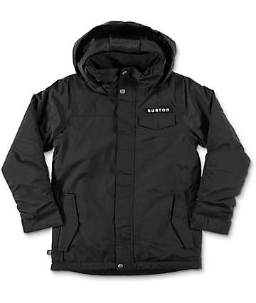 Burton Amped Boys True Black Snowboard Jacket