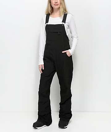 Burton Avalon 10K pantalones negros de snowboard de babero