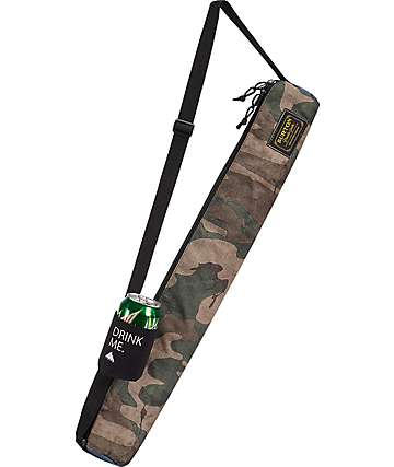 Burton Beeracuda Black & Camo Insulated Sleeve