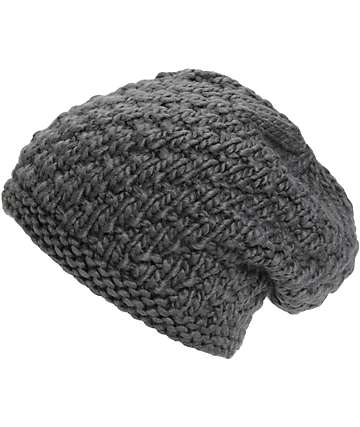 Burton Big Bertha Grey Beanie