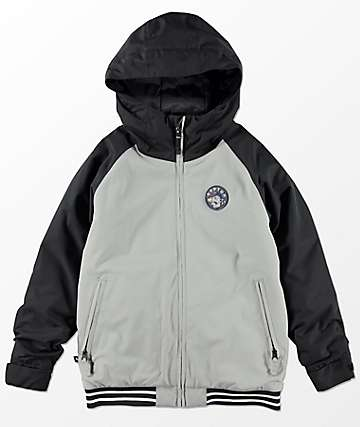 Burton Boys Game Day Monument Black 10K Snowboard Jacket
