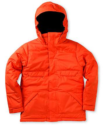Burton Boys TWC Warm & Friendly 10K Red T-Bone Snowboard Jacket 2013