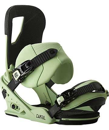 Burton Cartel ReFlex Lichen Snowboard Bindings