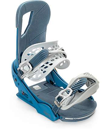 Burton Cartel ReFlex Steel Blue Snowboard Bindings
