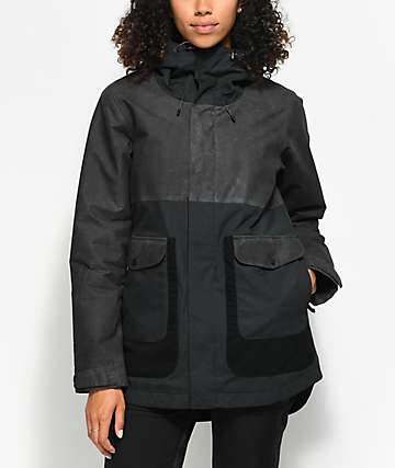 Burton Cerena Parka True Black 10K Snowboard Jacket