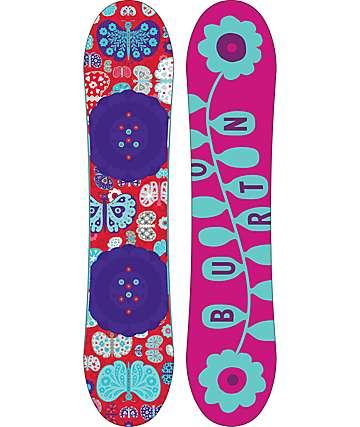 Burton Chicklet 125cm tabla de snowboard para mujeres