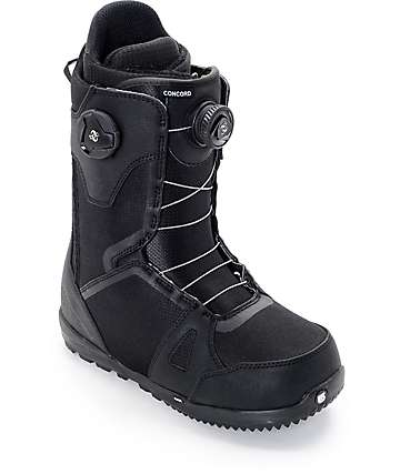 Burton Concord Dual Boa Black Snowboard Boots