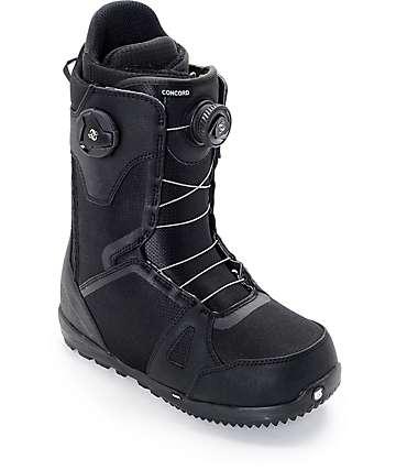 Burton Concord Dual Boa Black Snowboard Boots