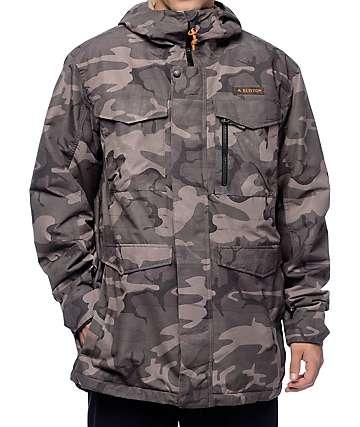 Burton Covert Camo 10K Snowboard Jacket