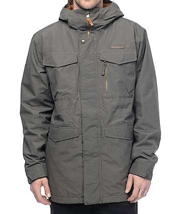 Burton Covert Keef Green 10K Snowboard Jacket