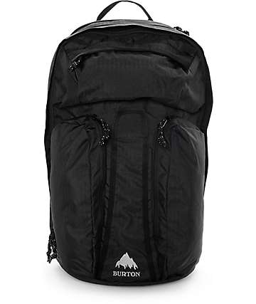 Burton Curbshark True Black Heather Twill 26L Backpack