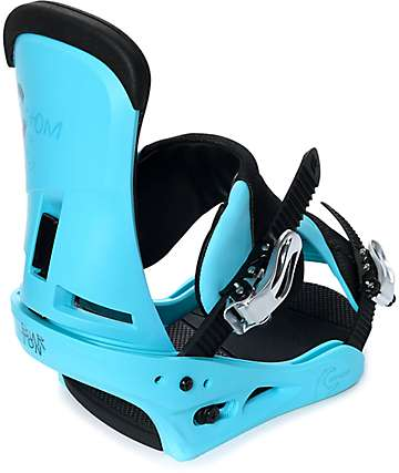 Burton Custom CS Blue Snowboard Bindings