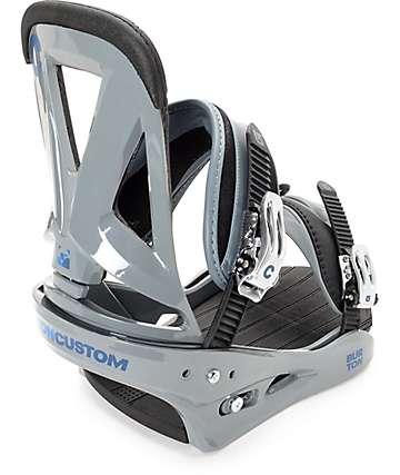 Burton Custom fijaciones de snowboard en gris