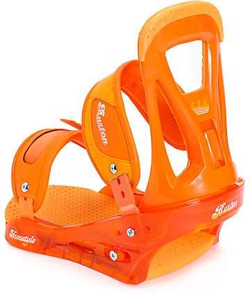 Burton Freestyle fijaciones de snowboard