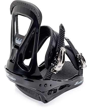 Burton Freestyle fijaciones de snowboard en negro