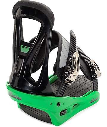 Burton Freestyle fijaciones de snowboard en verde