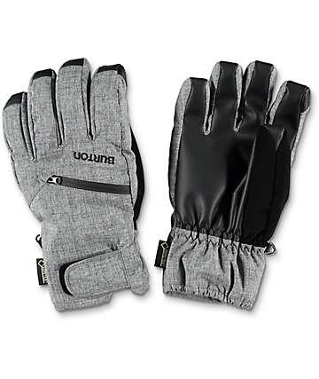 Burton GORE-TEX guantes under de snowboard en gris