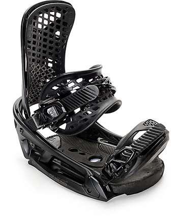 Burton Genesis EST Black Snowboard Bindings
