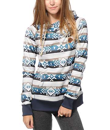 Burton Heron Tribal Tech Fleece Hoodie