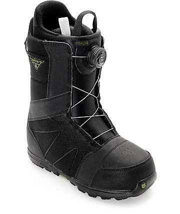 Burton Highline Boa Black Snowboard Boots