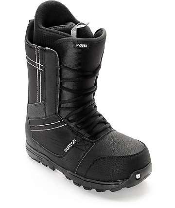 Burton Invader botas de snowboard en negro