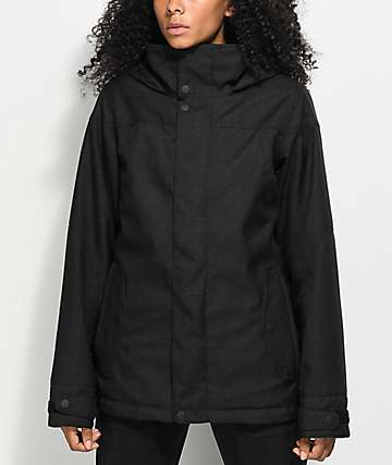 Burton Jet Set True Black 10K Snowboard Jacket