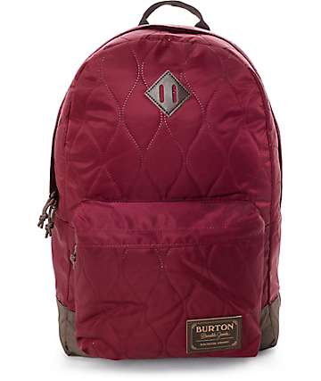 Burton Kettle Pack Quilted Zinfandel Womens 20L Backpack