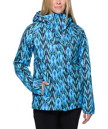 Burton Method Blue Print 10K Snowboard Jacket