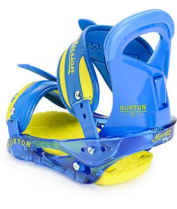 Burton Mission Smalls Kids Snowboard Bindings
