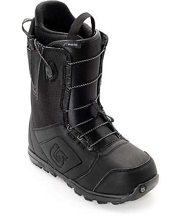 Burton Moto Black Snowboard Boots