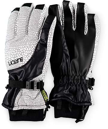 Burton Pele Snakeskin Womens Snowboard Gloves