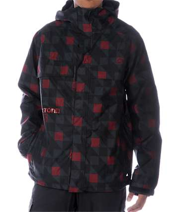 Burton Poacher Native Plaid Snowboard Jacket