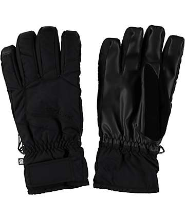 Burton Profile Black Under Gloves