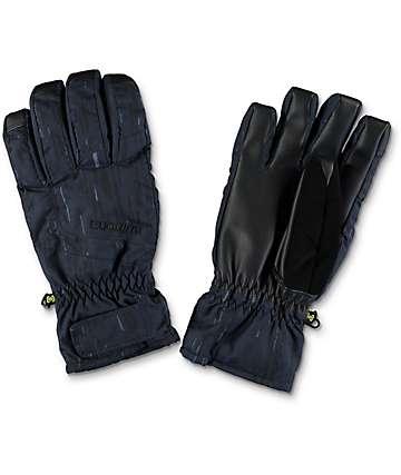 Burton Profile Rain Stencil guantes under de snowboard