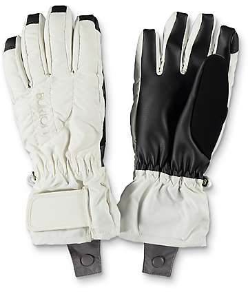 Burton Profile Stout White Snowboard Gloves