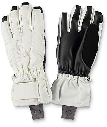Burton Profile guantes de snowboard en blanco