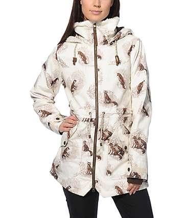Burton Prowess Foxy Toille 10K Snowboard Jacket