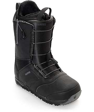 Burton Ruler Black Snowboard Boots