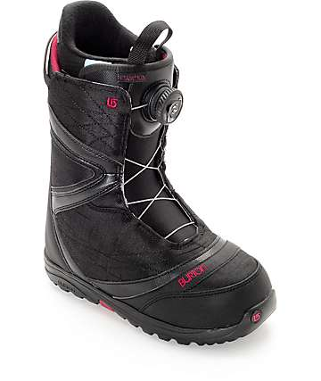 Burton Starstruck Boa Black Womens Snowboard Boots