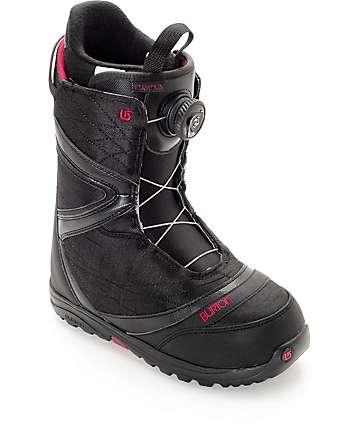 Burton Starstruck Boa botas negras de snowboard para mujeres