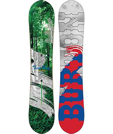 Burton Trick Pony 156cm tabla ancha de snowboard