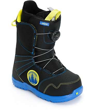 Burton Zipline Boa botas de snowboard para niños